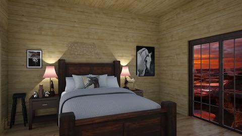 Horses - Bedroom - by wildandfree