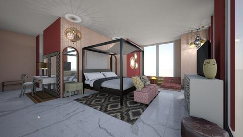 Master Bedroom - Bedroom - by shirinmdt