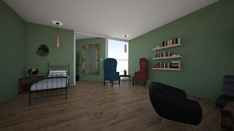 Earthy bedroom idea - Bedroom - by gummiebear