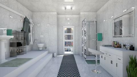 7th floor bathroom - Modern - Bathroom - by ljiljanan
