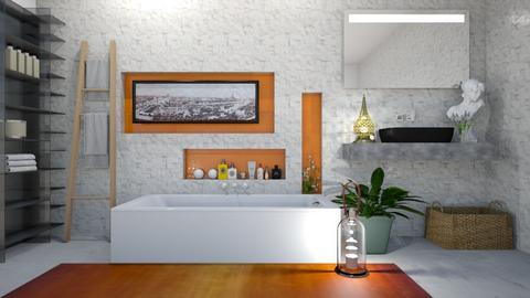Bathroom - Minimal - Bathroom - by rungsimas