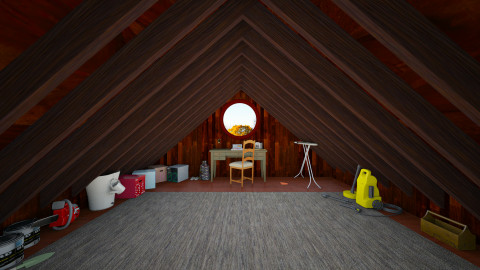 simple attic - by galimon
