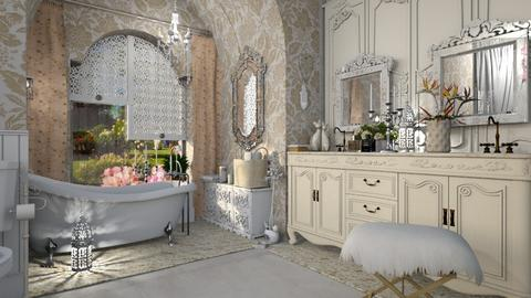 Sc Bath - Rustic - Bathroom - by ZsuzsannaCs