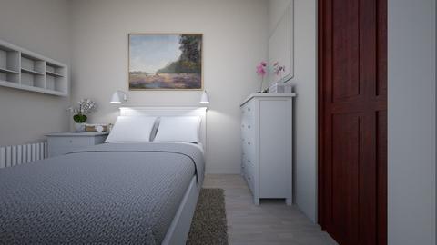 Sypialnia cioci Basi - Bedroom - by Anna_Be