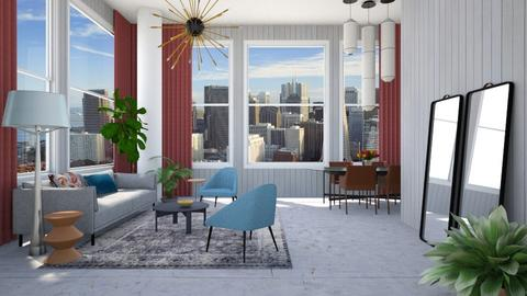Big Grey Living - Modern - Living room - by 3rdfloor