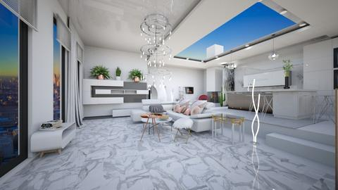 White and Open - by P_O_F Interiors