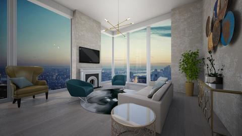 penthouse NYC  - Modern - Living room - by tolo13lolo