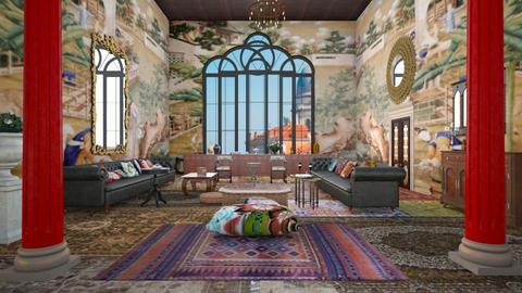 Max living - Eclectic - Living room - by kitty