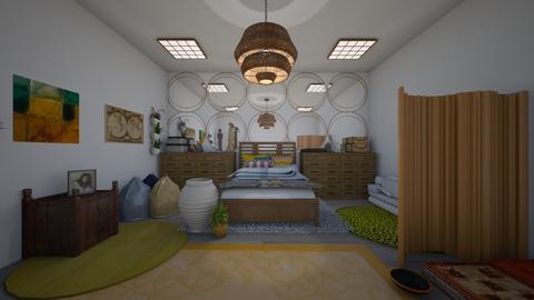 Boho Bedroom - by EG2005