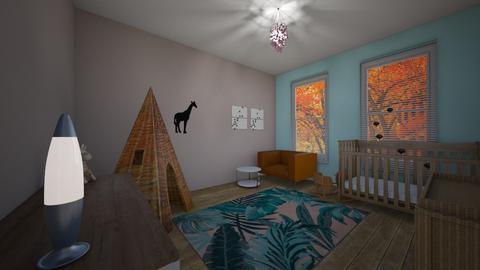 baby room - by charlottesmits