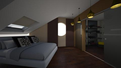 camera da letto mansarda - Bedroom - by laura suino