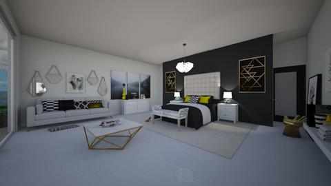 white charm - Bedroom - by flacazarataca_1