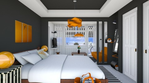 Bedroom redesign2 - Modern - Bedroom - by ritsa