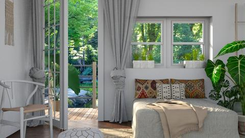Boho Bedroom Remix - Bedroom - by lovedsign