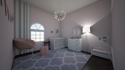 girls nursery home - Modern - Kids room - by jade1111