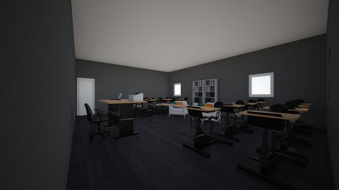 classroom Magalie - Office - by camille1234