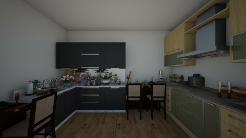 kitchen - by sjan4070