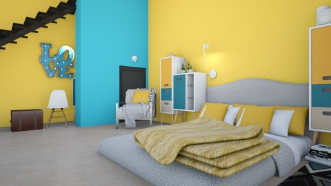 Set in Apartment - Bedroom - by PeaceLady13