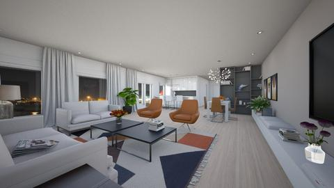 For simiia IV - Eclectic - Living room - by Theadora