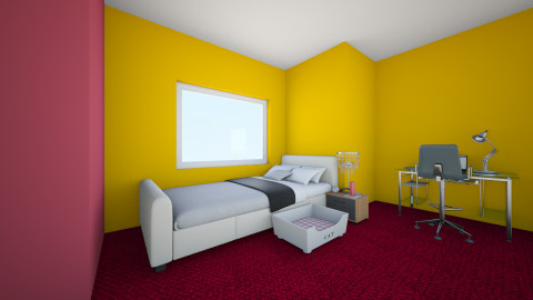 room - Bedroom - by ola_fasola
