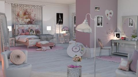 girly room - Bedroom - by snjeskasmjeska