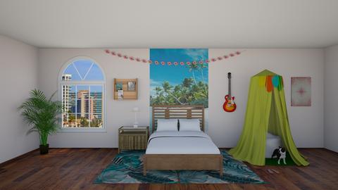 Tropical bedroom - Bedroom - by livdesign