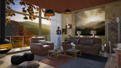 M_Sweet home - Living room - by milyca8