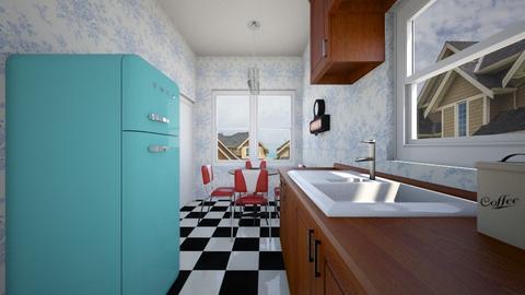 1950s Kitchen - Kitchen - by SammyJPili
