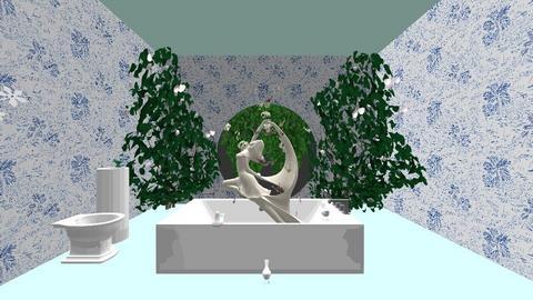Greek fountain - Bathroom - by emilylam08