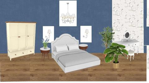 bedroom  - by Marisha Tryfonova