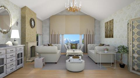 chique  - Classic - Living room - by zayneb_17