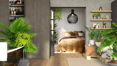 UrbanBedroom - by Gwenda van Maaren