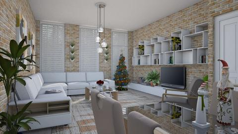 Seasons Greetings - Eclectic - Living room - by Theadora