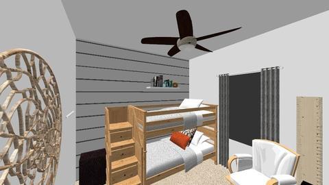 McCarty boy room - Bedroom - by elizabeth_mccreight
