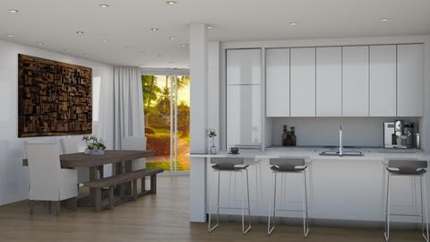 Milena y Ashton - Eclectic - Kitchen - by Elenn