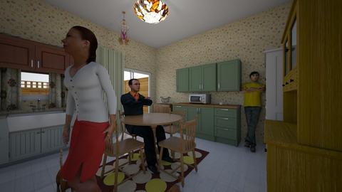 Moms Place Dinner - Kitchen - by WestVirginiaRebel
