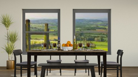 The Country - Rustic - Dining room - by millerfam
