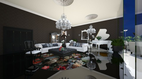 GlamourGlossysecond - Glamour - Living room - by Mihailovikj Mimi