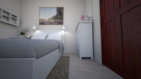 Sypialnia cioci Basi 03 - Bedroom - by Anna_Be