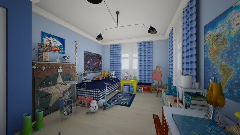 for Kristelkowski - Kids room - by Conchy