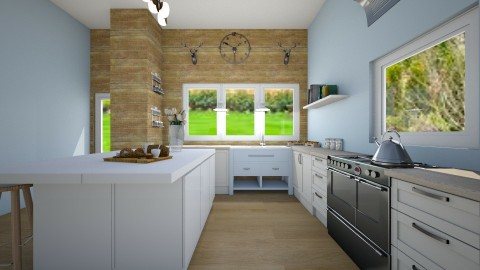 rustic hunger - Rustic - Kitchen - by marble101