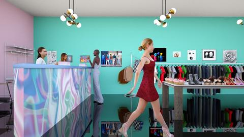 80s Clothing Store - by josielz