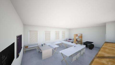 Classroom - Minimal - Office - by Saar Duyvejonck