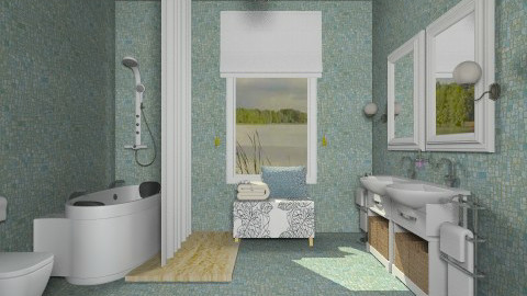 Global Glamor - Classic - Bathroom - by mindb4matter