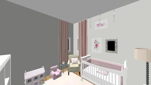 baby girl room  - by kristiderev