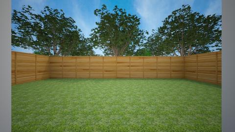 Yard_2 - Garden - by chrometoaster