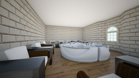 spa - Rustic - by Clemence Boulet