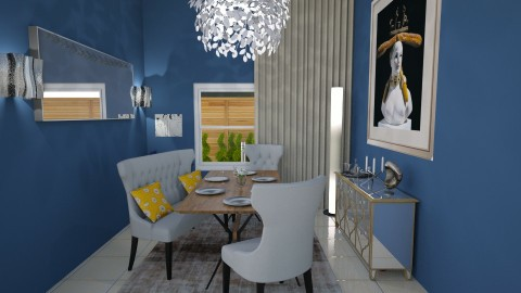 Dining Room - Retro - Dining room - by TJOHNS