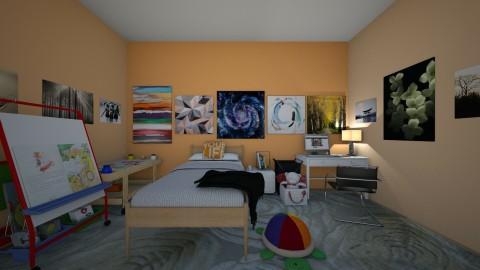Artist Bedroom - by annatyler08