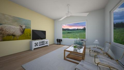 Living Room Meadow - Country - Living room - by imgoodatusernames